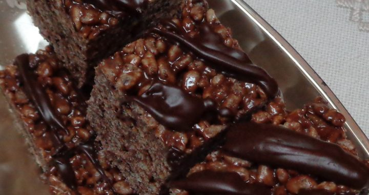 Almond Mocha Rice Krispie Squares from My Kitchen Wand