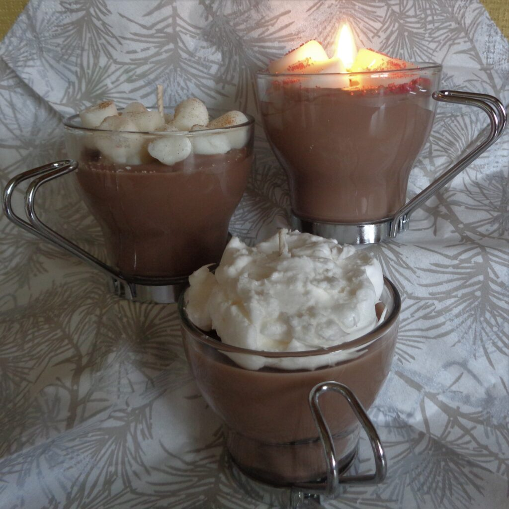 Mocha Latte/Hot Chocolate Candles from My Kitchen Wand