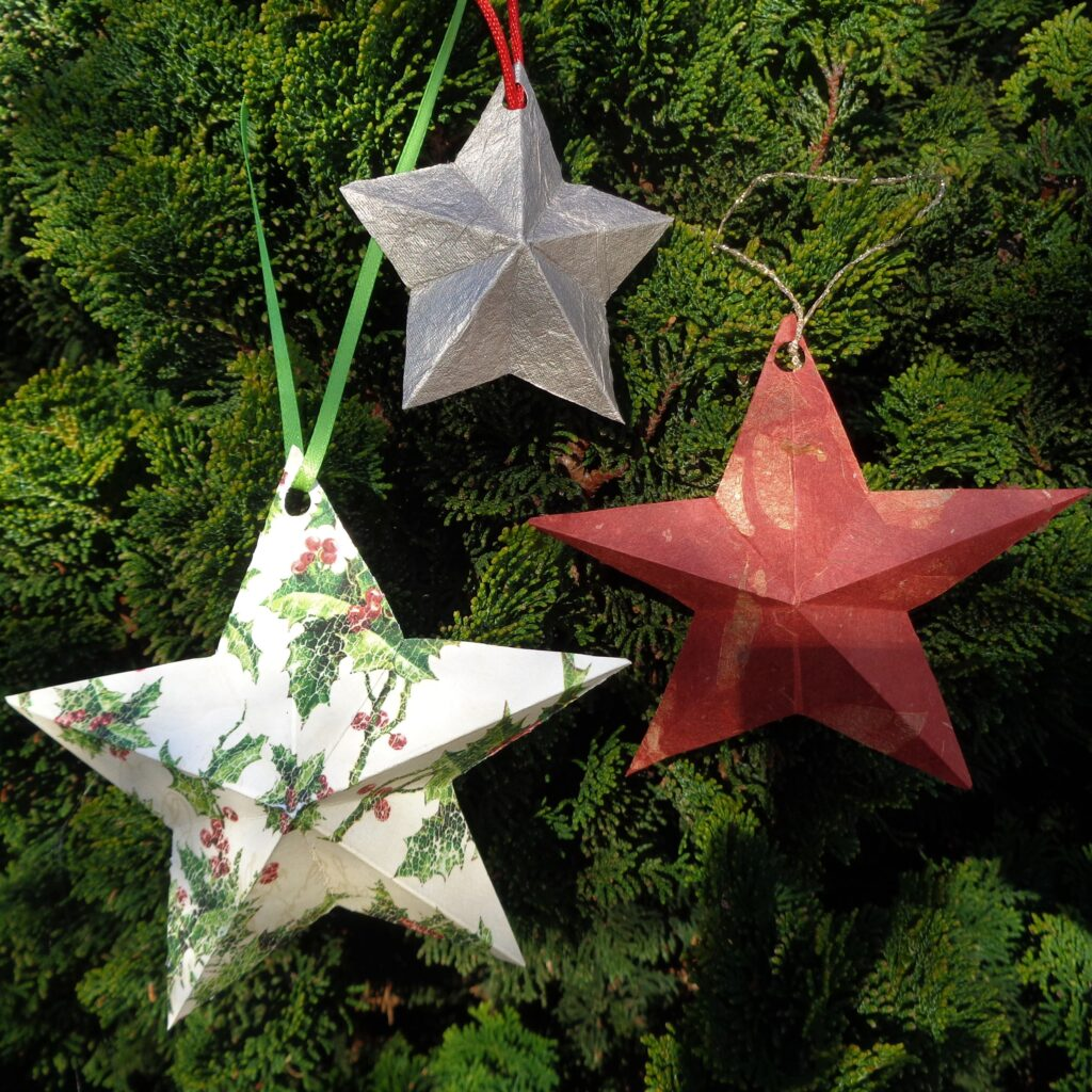 Simple Swedish Paper Stars from My Kitchen Wand