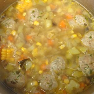 Chicken Soup with Imbolc Herbs from My Kitchen Wand