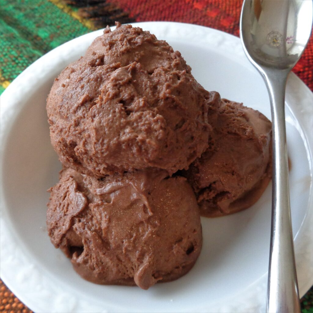 Chocolate Mint Ice Cream from My Kitchen Wand