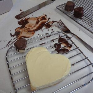 Valentine Cheesecake for Two from My Kitchen Wand