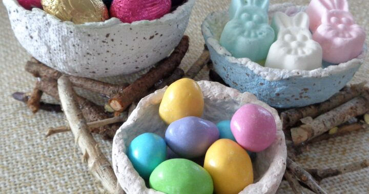 Paper Egg Basket from My Kitchen Wand