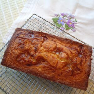 Seville Orange Curd Loaf Cake from My Kitchen Wand