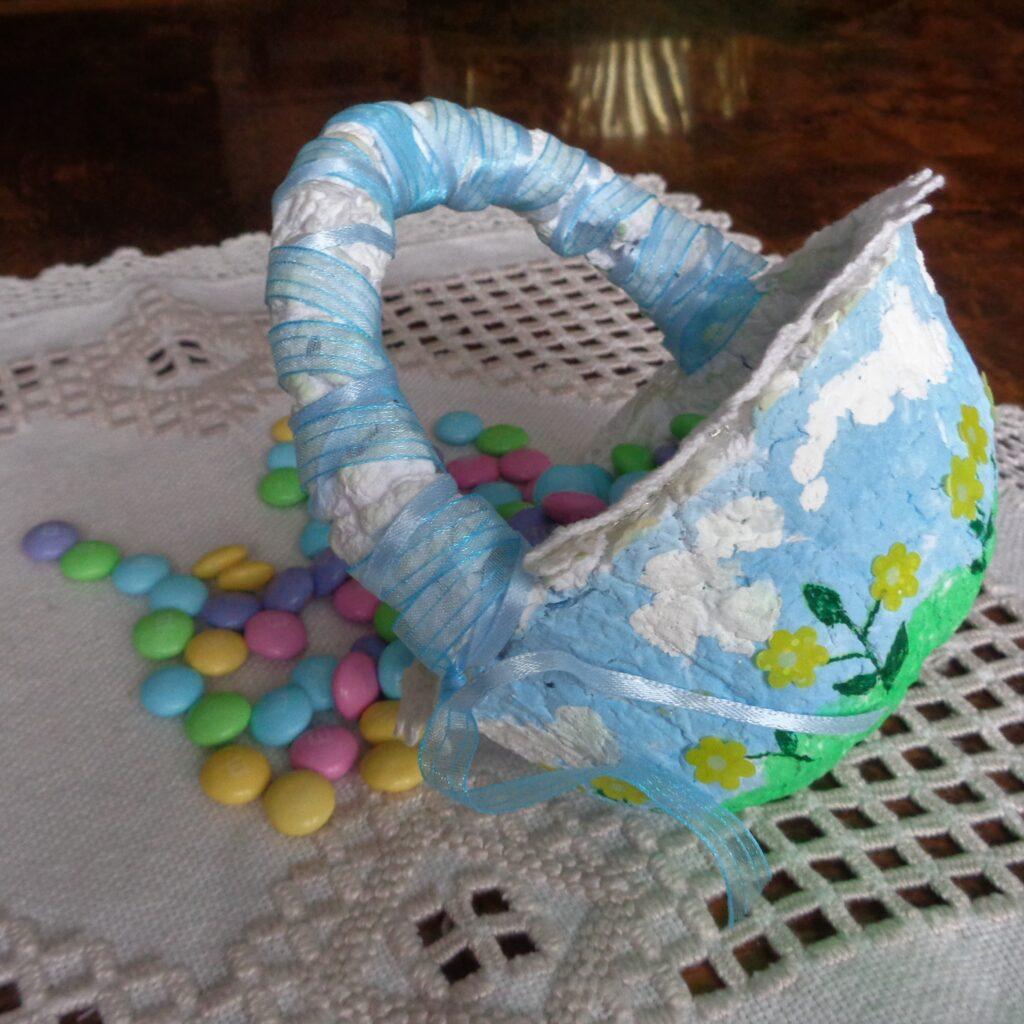 Paper Easter Basket from My Kitchen Wand