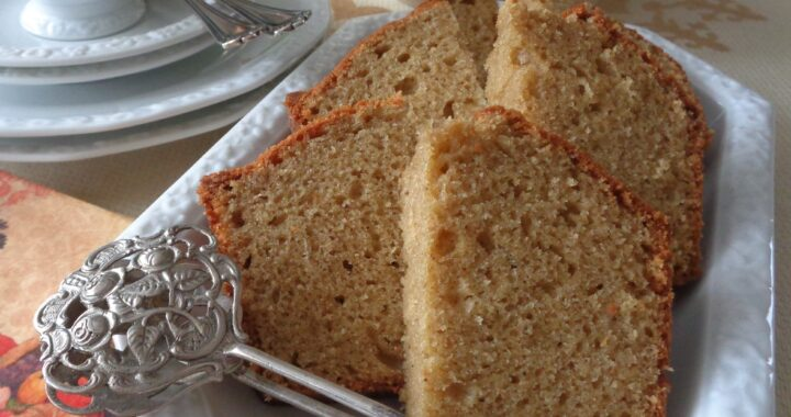 Cardamon Golden Sugar Pound Cake from My Kitchen Wand Sugar